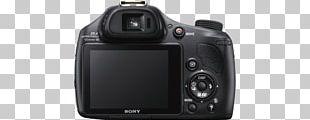 Digital SLR Camera Lens Sony Cyber-Shot DSC-HX400V 20.4 MP Compact Digital Camera PNG
