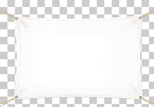 Pillow White Rectangle PNG