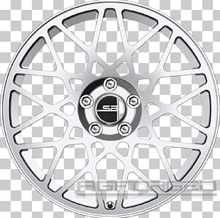 Alloy Wheel Car Hubcap Tire Rim PNG