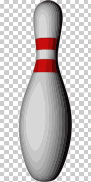 Bowling Pin Product Design PNG