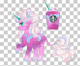 Unicorn Frappuccino Pony Frappé Coffee Milkshake PNG