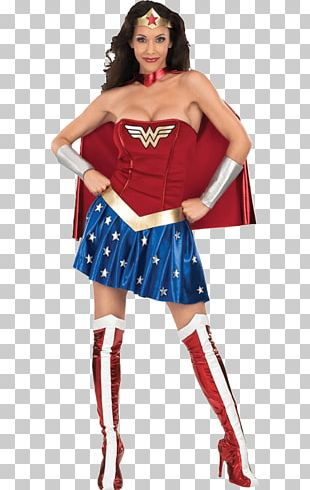 Wonder Woman Diana Prince Costume Party Clothing PNG
