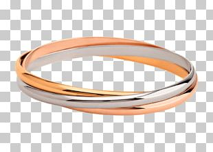Love Bracelet Cartier Jewellery Colored Gold PNG