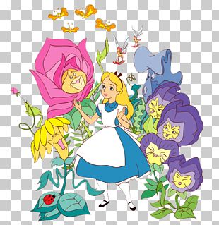 Alices Adventures In Wonderland Caterpillar White Rabbit The Mad Hatter PNG