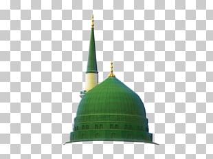 Green Dome Al-Masjid An-Nabawi Mecca Quran Durood PNG