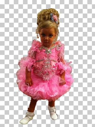 Beauty Pageant Toddler Doll PNG