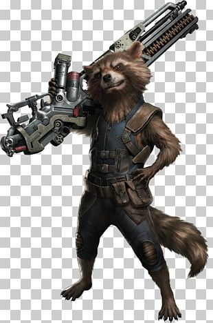 Rocket Raccoon Thor Thanos Captain America Groot PNG