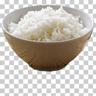 White Rice Cereal Cooked Rice PNG
