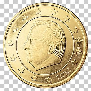 50 Cent Euro Coin Belgian Euro Coins 1 Cent Euro Coin PNG