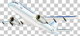 Airplane Narrow-body Aircraft Air Transportation Mode Of Transport PNG