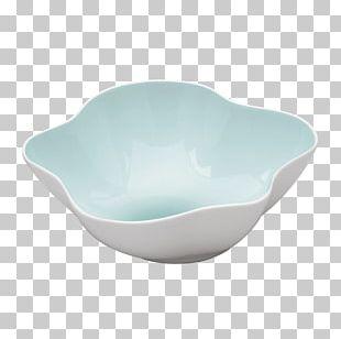 Bowl Glass Blue Ceramic Green PNG