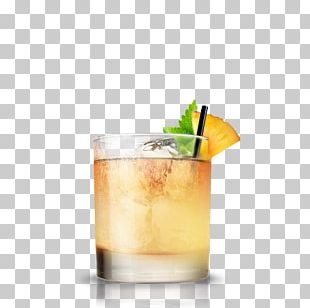 Cocktail Garnish Rum Drink Mai Tai PNG