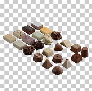 Chocolate Truffle Bonbon Praline Dominostein Petit Four PNG