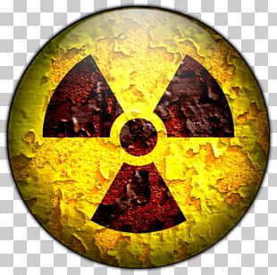 Weapon Of Mass Destruction Hazard Symbol Sign Radioactive Decay PNG