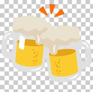 Beer Glasses Emoji Drink Ale PNG