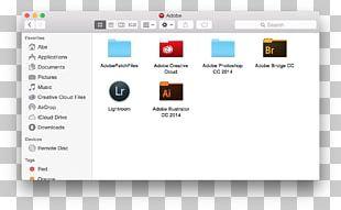 ICloud Drive MacOS PNG