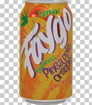 Orange Drink Orange Soft Drink Faygo Fizzy Drinks Cream Soda PNG