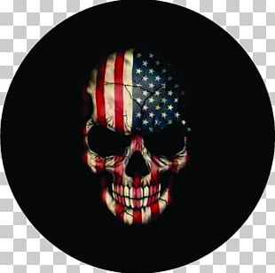 Flag Of The United States Death Human Skull Symbolism Old Glory PNG