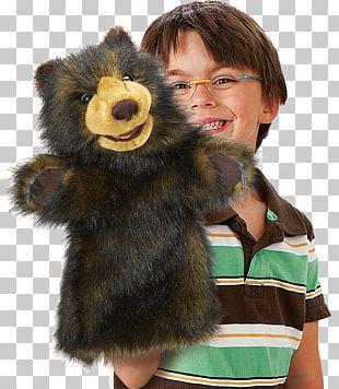 Teddy Bear Hand Puppet Plush Stuffed Animals & Cuddly Toys PNG