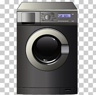 Cartoon Wardrobe Washing Machine PNG