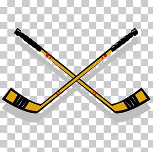Ice Hockey Stick Hockey Sticks Hockey Puck Goaltender PNG