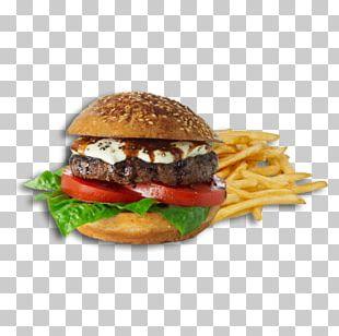 Cheeseburger Buffalo Burger French Fries Hamburger Slider PNG