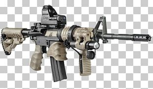 Assault Rifle M4 Carbine Firearm M16 Rifle AR-15 Style Rifle PNG