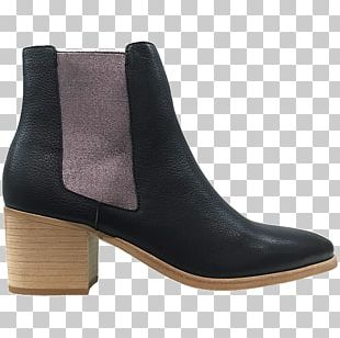 Moon Boot Shoe Leather Chelsea Boot PNG