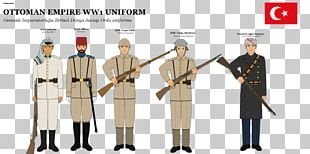 Ottoman Empire First World War Military Uniform Europe PNG