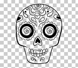 Calavera Drawing Skull Day Of The Dead Sketch PNG