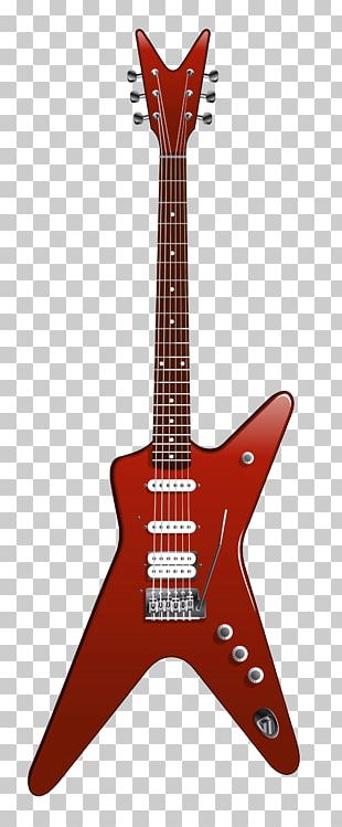 Electric Guitar Fender Stratocaster PNG