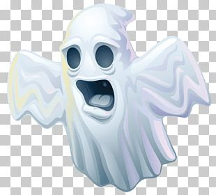 Spooky Ghost Halloween PNG