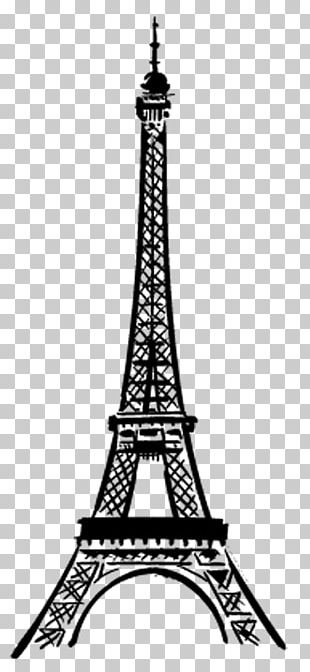 Eiffel Tower Champ De Mars Drawing PNG