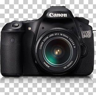 Canon EOS 60D Canon EF Lens Mount Canon EF-S Lens Mount Canon EF-S 18–135mm Lens Digital SLR PNG