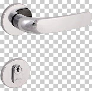 Door Handle Pin Tumbler Lock Arouca PNG