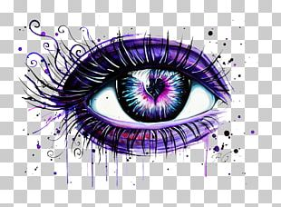 Abziehtattoo Eye Liner Drawing PNG