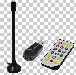 DVB-T-Stick Digital Video Broadcasting Radio Receiver Software-defined Radio PNG