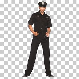 Police Officer Costume T-shirt PNG