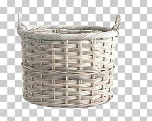 Basket Wicker Bamboe Bamboo PNG