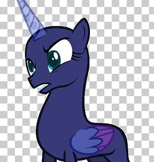 My Little Pony Princess Luna Winged Unicorn PNG