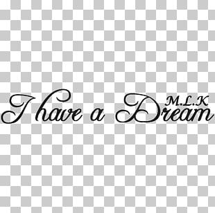 I Have A Dream Text Sticker Wall Decal Book PNG
