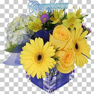 Flower Bouquet Floral Design Floristry Birthday PNG