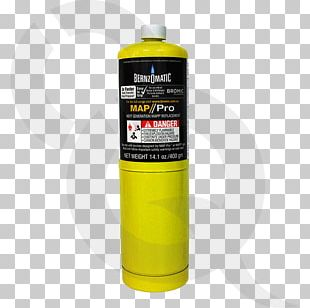 MAPP Gas Brazing BernzOmatic Gas Cylinder Liquefied Petroleum Gas PNG