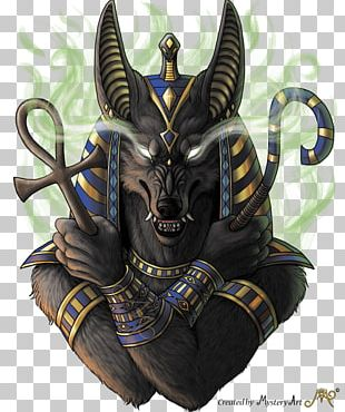 Ancient Egyptian Religion Anubis Art PNG
