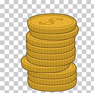 Gold Coin Cartoon PNG