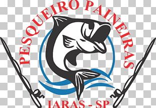 Logo Pesqueiro Paineiras Illustration Graphic Design PNG