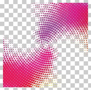Halftone Polka Dot Adobe Illustrator PNG