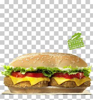 Veggie Burger Whopper Hamburger Cheeseburger Chicken Sandwich PNG