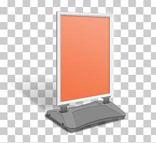 Sandwich Board Computer Monitor Accessory Multimedia PNG