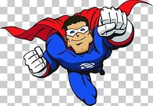 Superman Superhero Cartoon PNG